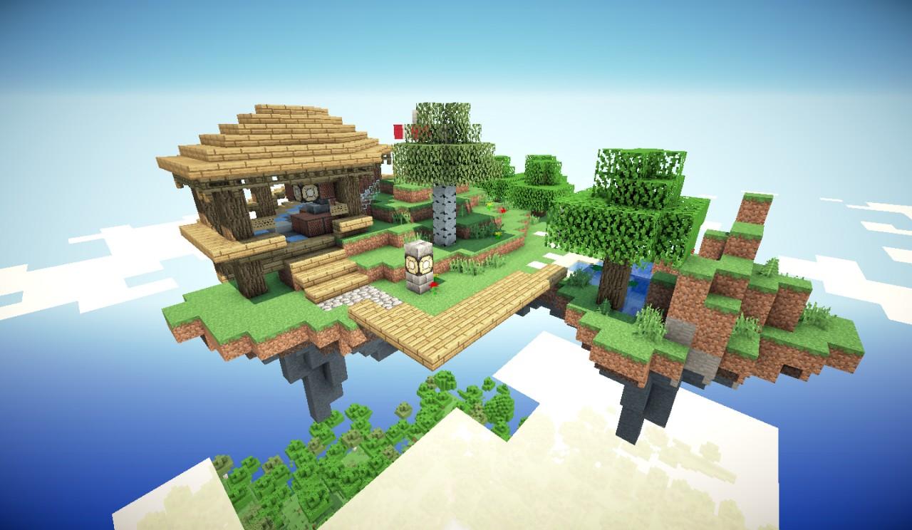 Minecraft Maps    Island