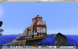 British battle ship Minecraft Map & Project