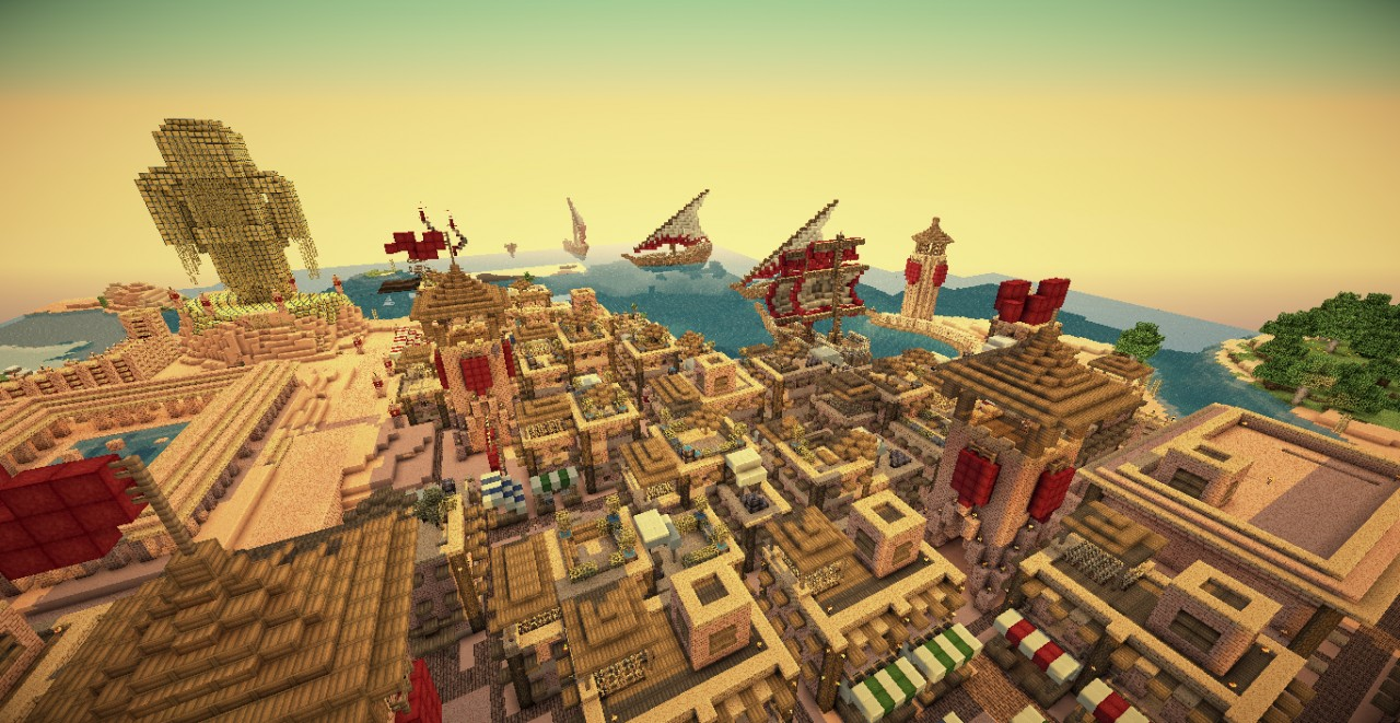Minecraft Roman Hunger Games Minecraft Project - Rome map download