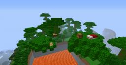 Treetop Parkour! Minecraft Map & Project