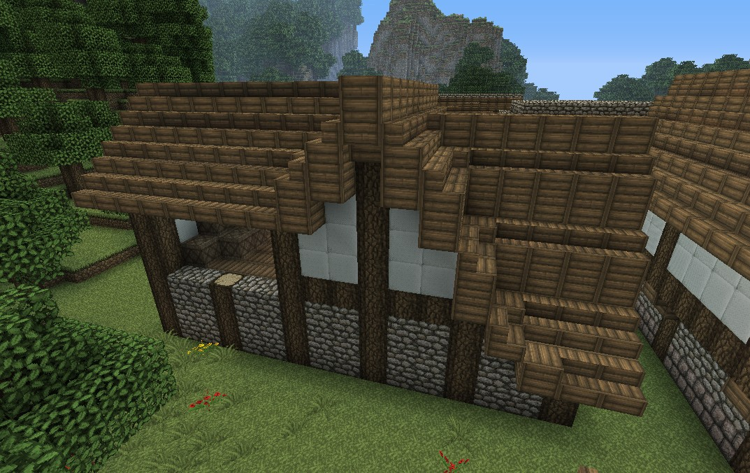 floor schematic medieval barn minecraft project