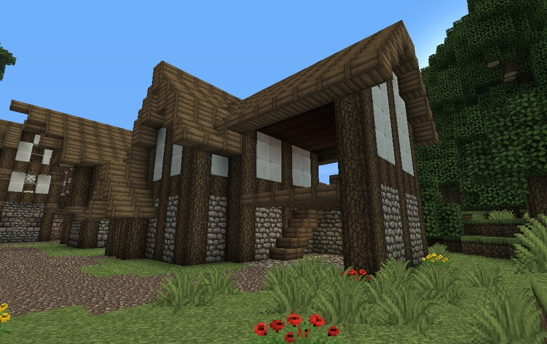 Medieval Barn Minecraft Project