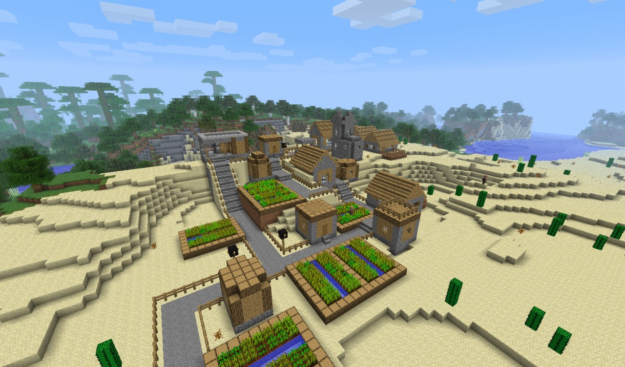 New Upgraded Village Minecraft Project