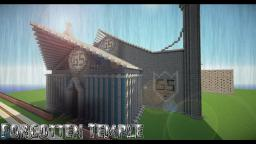 Forgotten Temple *Unfinished* Minecraft Map & Project