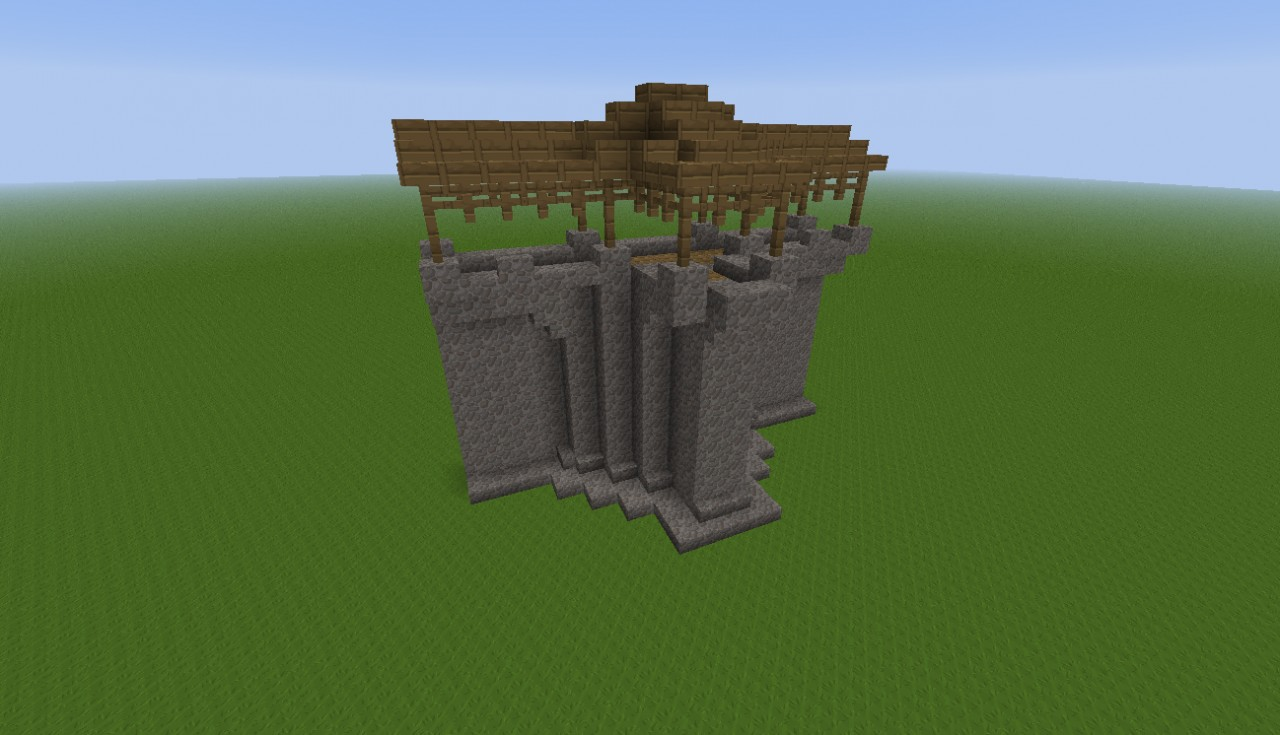 Minecraft how to make a map wall