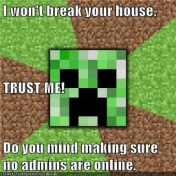 Minecraft Background Checks? Minecraft Blog Post