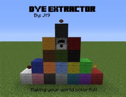 [1.2.5]Dye Extractor - v1.3.3 Discontinued for a while... Minecraft Mod