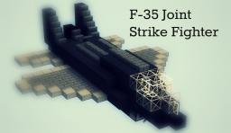 F-35 Fighter Jet - Armed Minecraft Map & Project