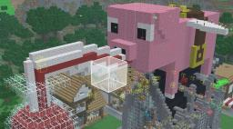 Church Of The Flying Squid And Immortal Pig Minecraft Project