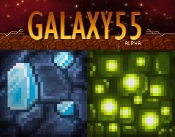 Galaxy 55 [32x] - Discontinued Minecraft