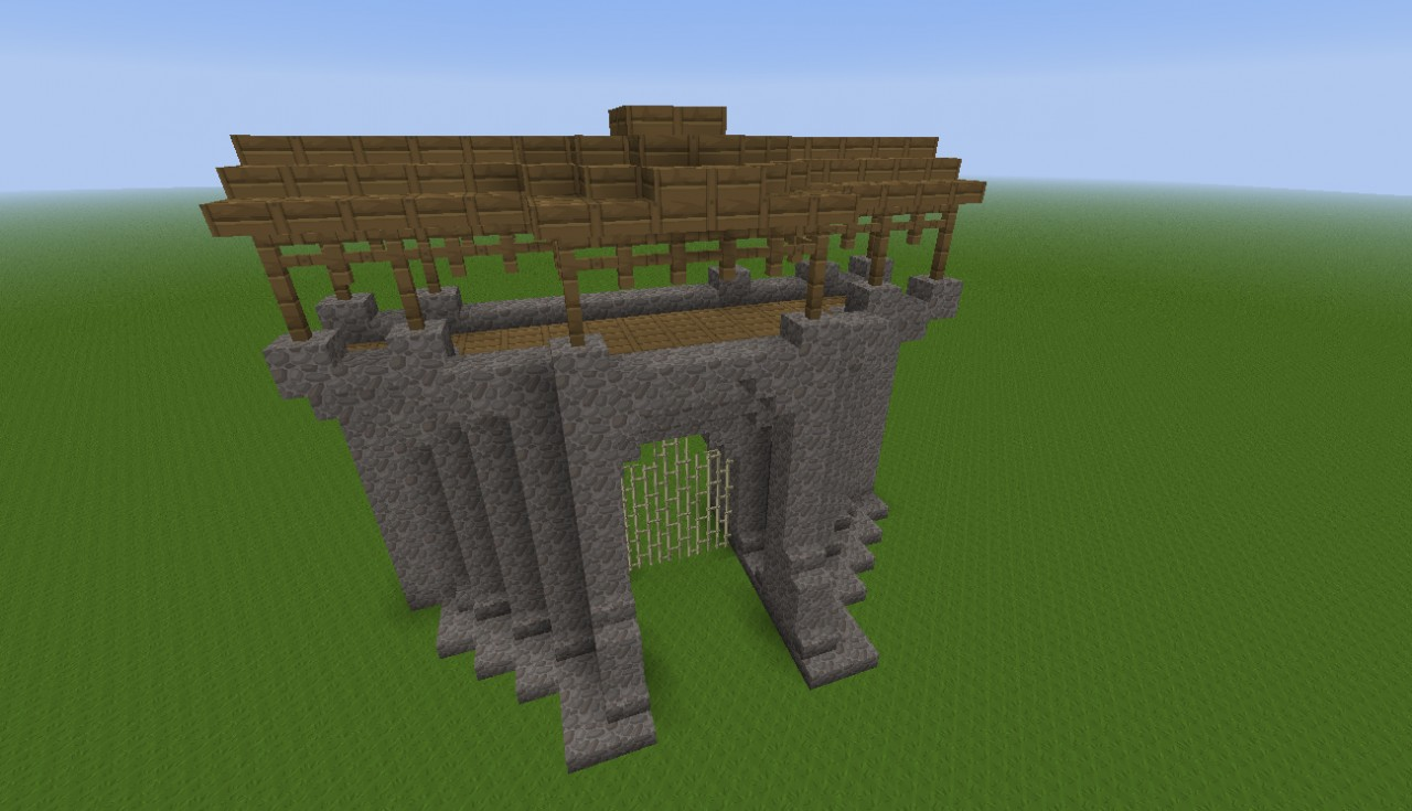 Building Fence Gate Minecraft
