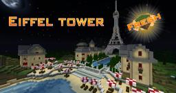 EIFFEL TOWER TIMELAPSE Give diamond if you like it! Minecraft Map & Project