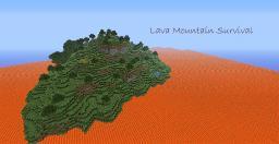 Lava Mountain Survival 1.1 (1.2.5) Minecraft Project