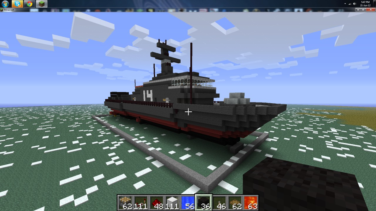Image Result For How To Make A Boat On Block Craft