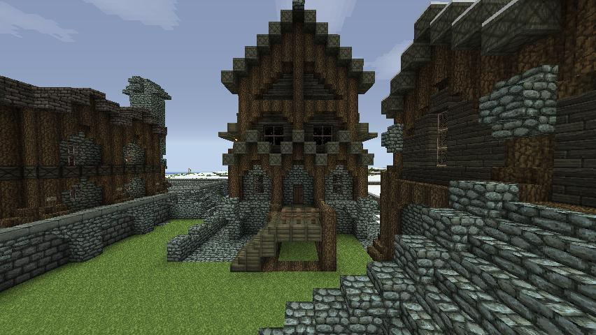 Minecraft Medieval House Designs The Hippest Galleries