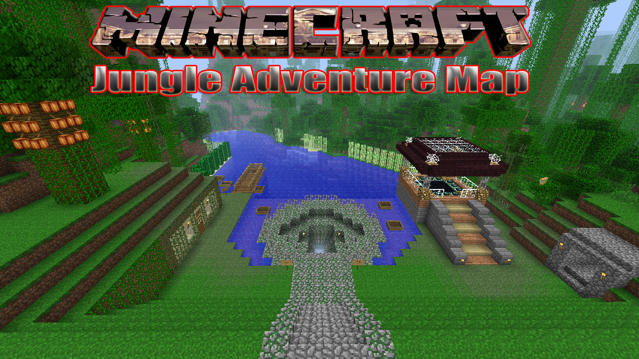 Jungle Adventure Map Minecraft Project - Adventure maps fur minecraft