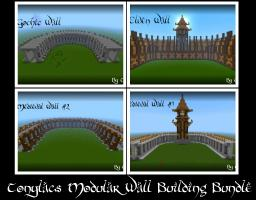 "Tonylac's ""Build your own"" : Castle or City (Walls) Minecraft"