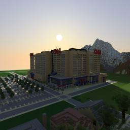 CNN Center replica (Atlanta,Ga) Minecraft Map & Project