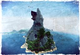 Epic mountain Minecraft Map & Project