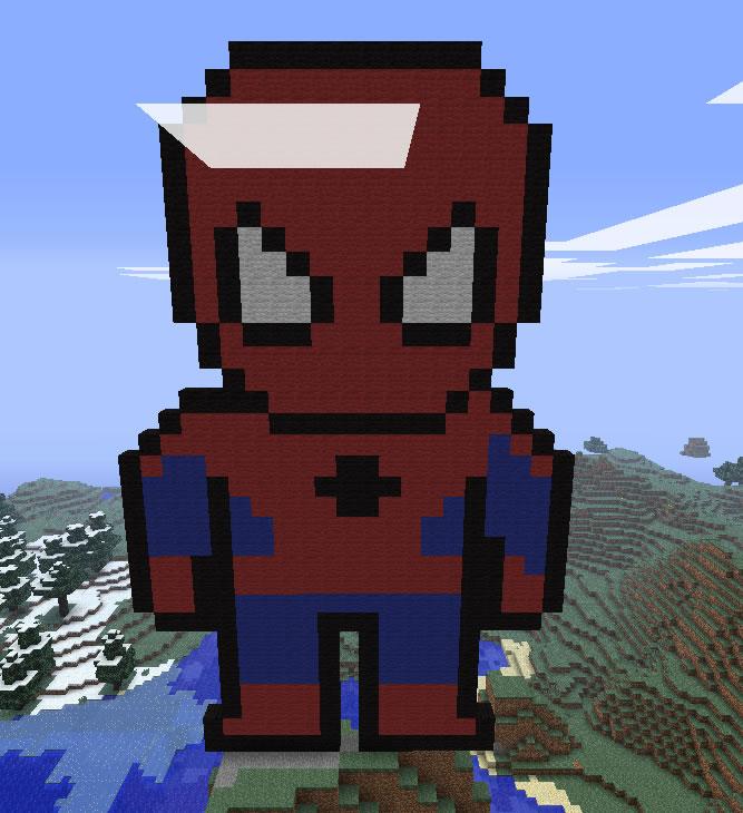Pacman Pixel Art Minecraft Pixel Art Map Minecraft