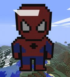 Pixel Art Map Minecraft Project