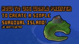 How to: Use WorldPainter to create a simple survival island Minecraft Blog Post