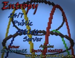 [Tekkit][Dedicated]Entropy 24/7 Tekkit Server [LogBlock][mcMMO][PreciousStones][iConomy] Minecraft Server