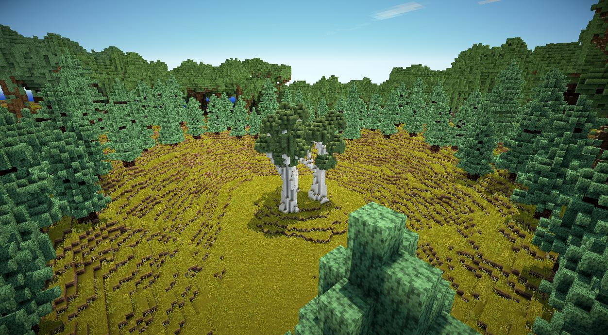 how to create a the forest server