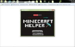 *PROGRAM*    MCHelper   1.0 Full Release!!! Minecraft Mod