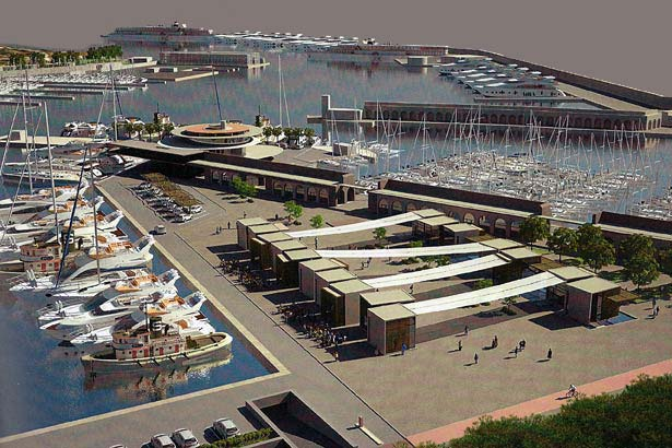 Port Vauban Antibes France Minecraft Project - Port design