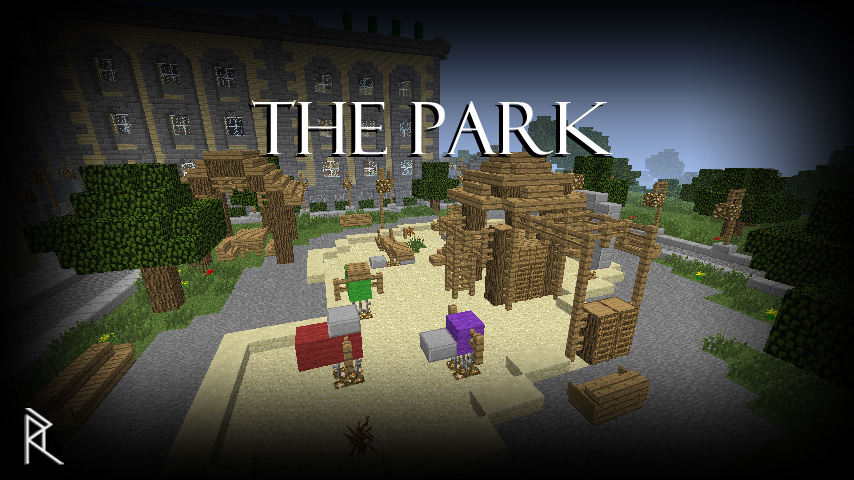 How To Make A Park Bench In Minecraft
