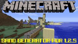 Sand Generator For 1.2.5 Tutorial Minecraft