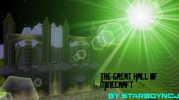 The Great Hall of minecraft Minecraft Project