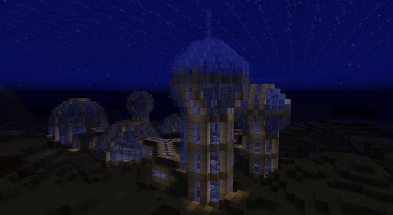 Underwater Research Facility Minecraft Project