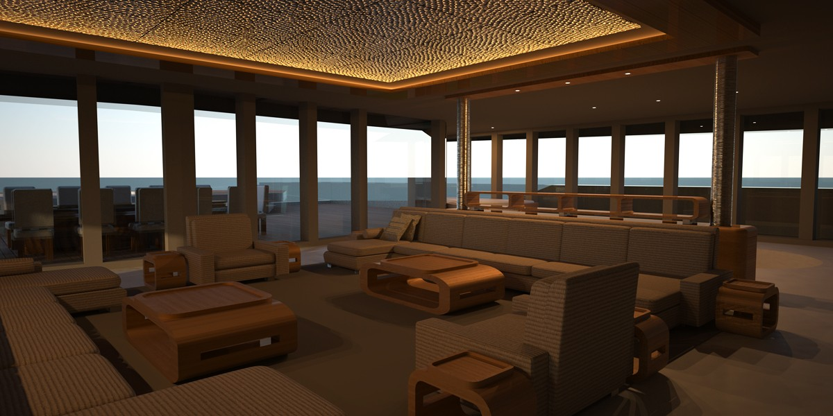 eva superyacht catamaran minecraft project. Black Bedroom Furniture Sets. Home Design Ideas