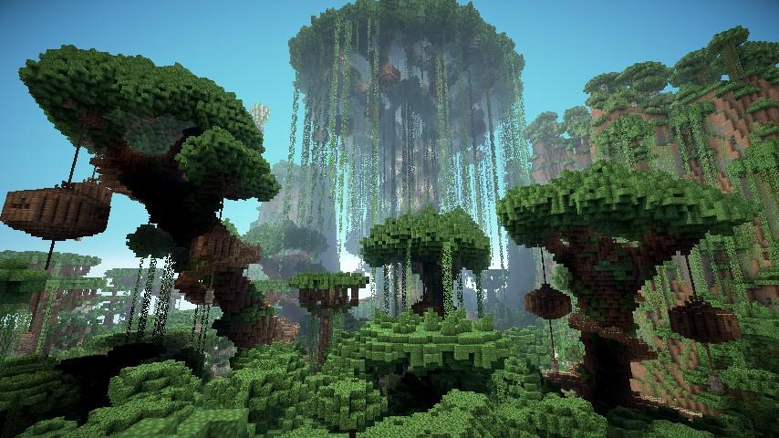 Block Empires Gylenhoff Elven City Minecraft Project