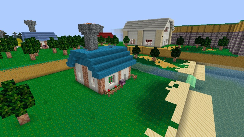 Let's Build - Minecraft Animal Crossing! - YouTube