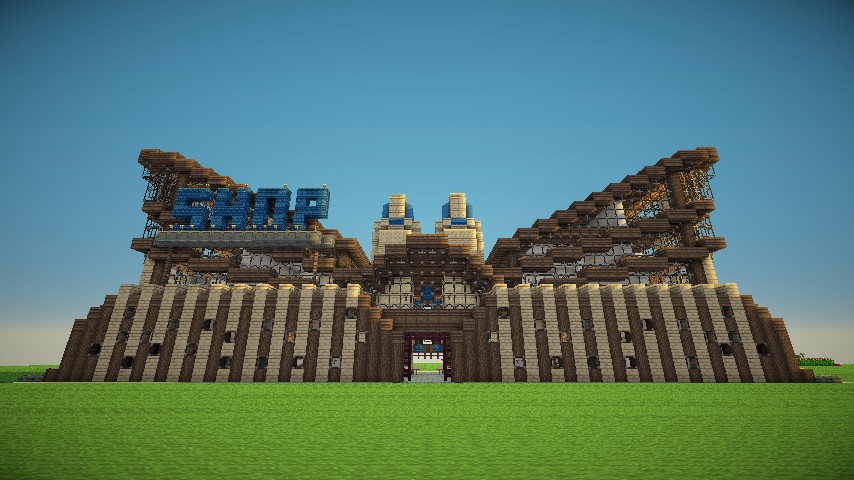 Minecraft Server Shop Project