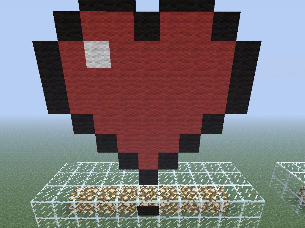 Mc Heart Coeur Mc Minecraft Project