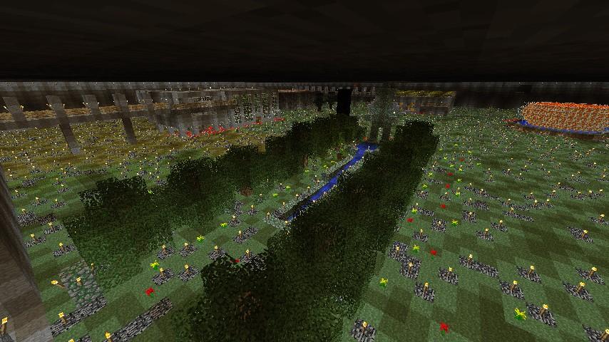 Underground digout