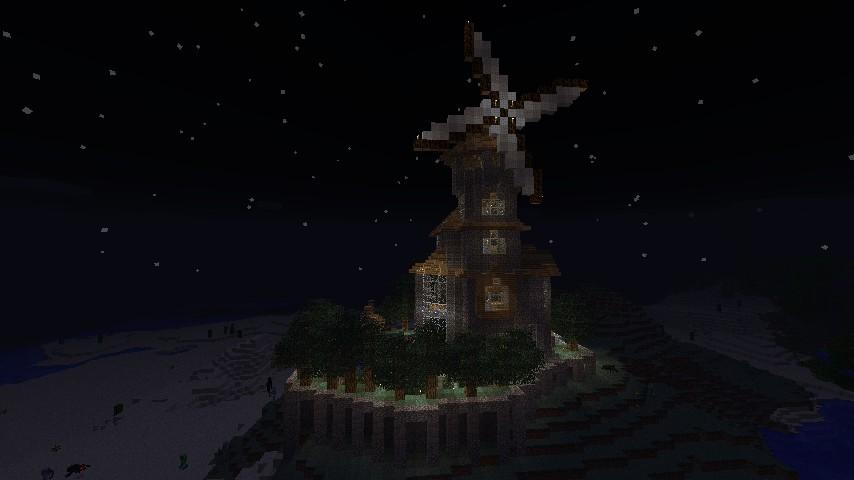 Hermit's desolate hideout