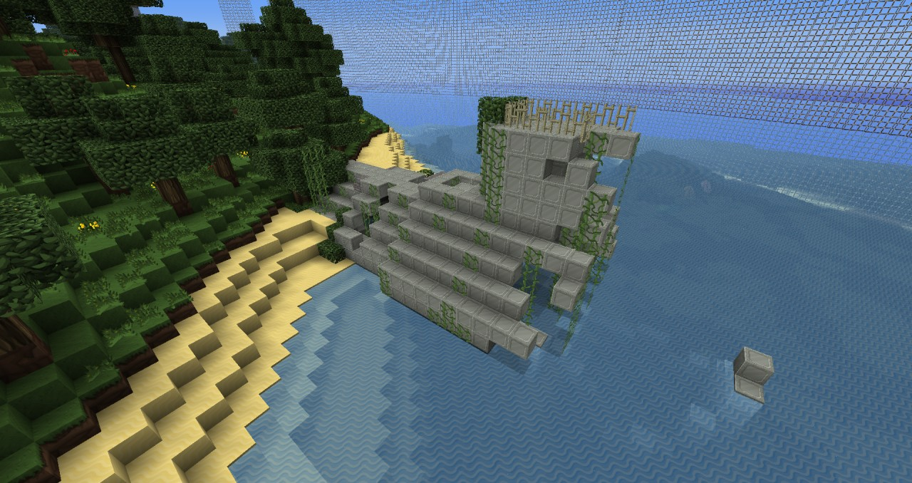 Abandoned Island Small Hunger Games Map Minecraft Project