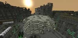 Post-Nuclear Zombie Apocalypse map. Minecraft Project