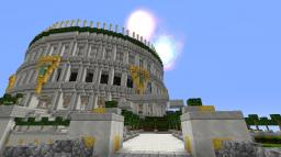 Great Marble Colosseum Minecraft Project
