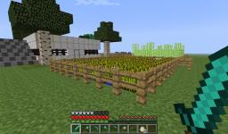 MINI FARMING HOME & VILLAGERS STORE Minecraft Project