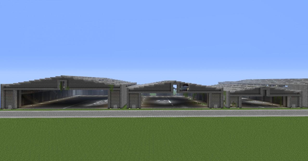 Aircraft Hangar Park on Small Home Tiny House