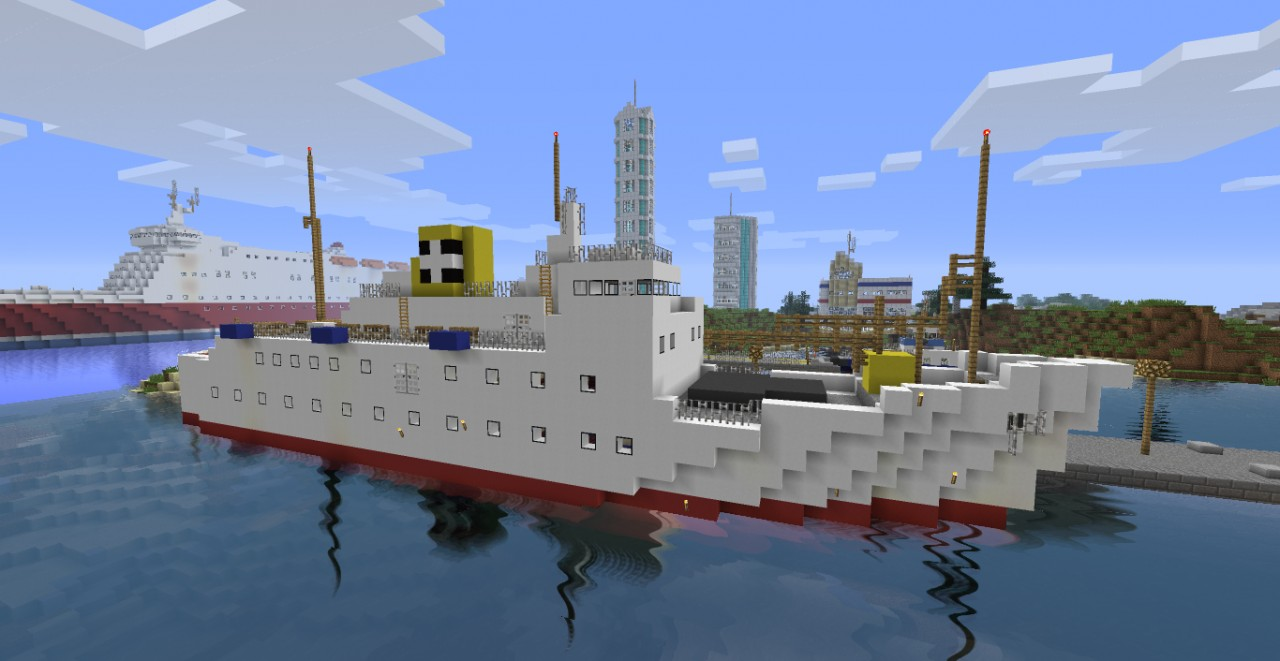 how to make a real boat in minecraft