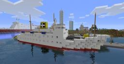 """Scillonian III"" - A real life ferry! Minecraft Map & Project"