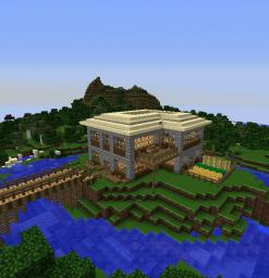 House on a little island Minecraft Map & Project