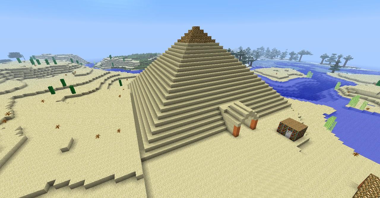 Pyramid Maze Minecraft Project